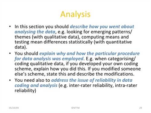 How to write methodology in ma thesis